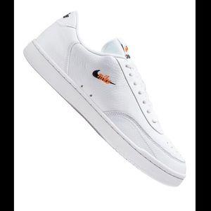 NIKE Court Vintage Premium white sneakers-10.5